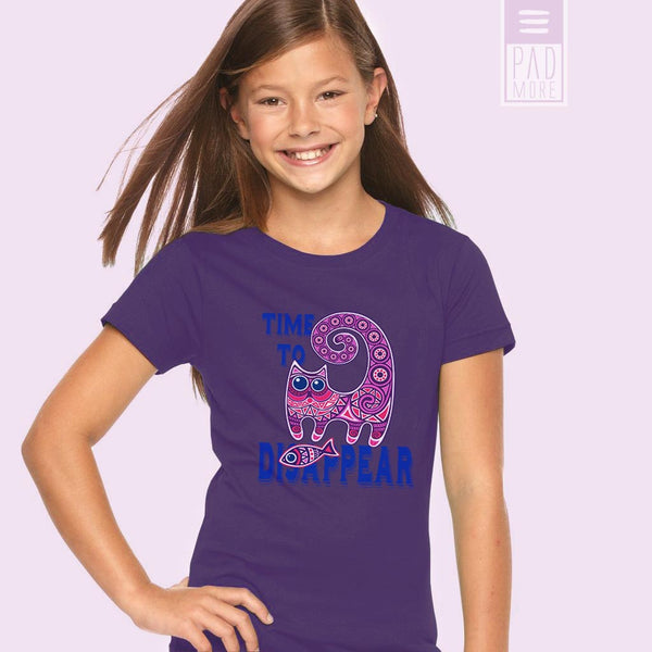 Cheshire Cat Girl Tshirt