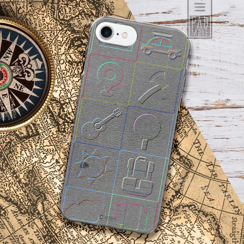 Go Places Phone Case