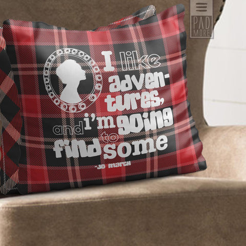 Little Women Jo's Adventures Pillow