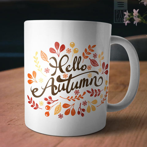Hello Autumn Mug