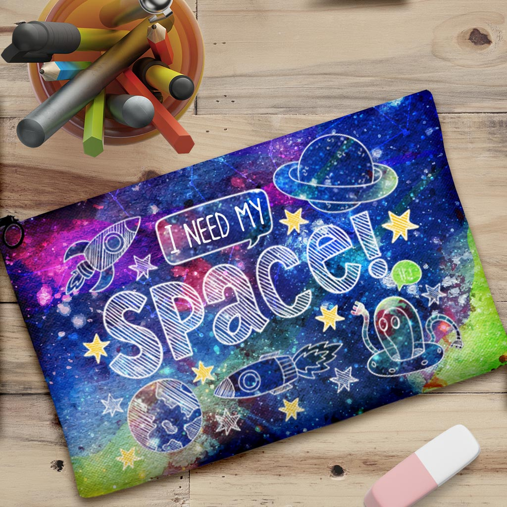 I Need My Space Pouch