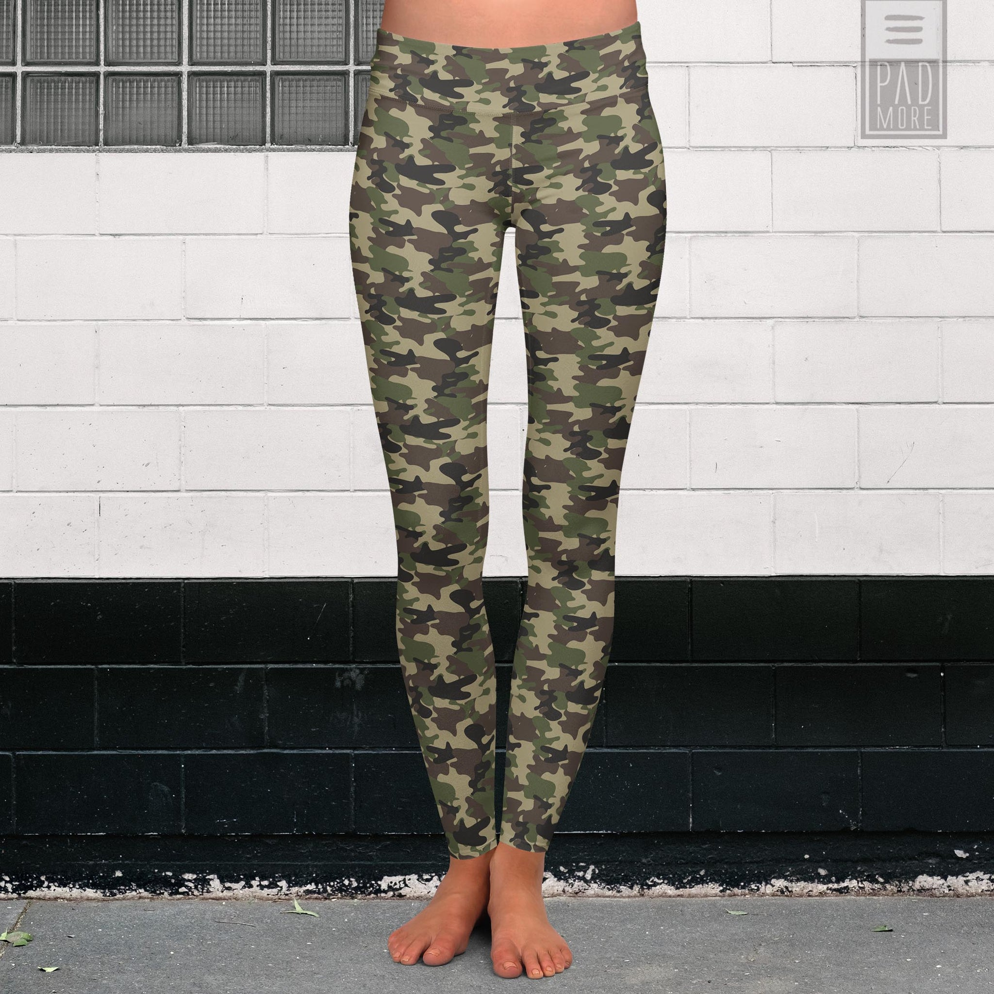 Come Up Camouflage Leggings