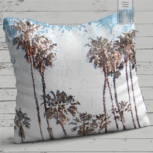 Blue Summer Pillow