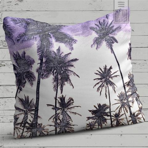 Purple Summer Pillow