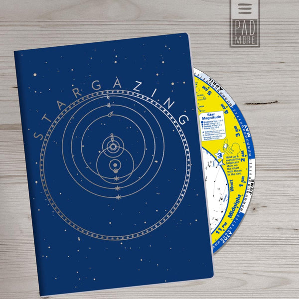 Stargazing Passport Sized Mini Notebook