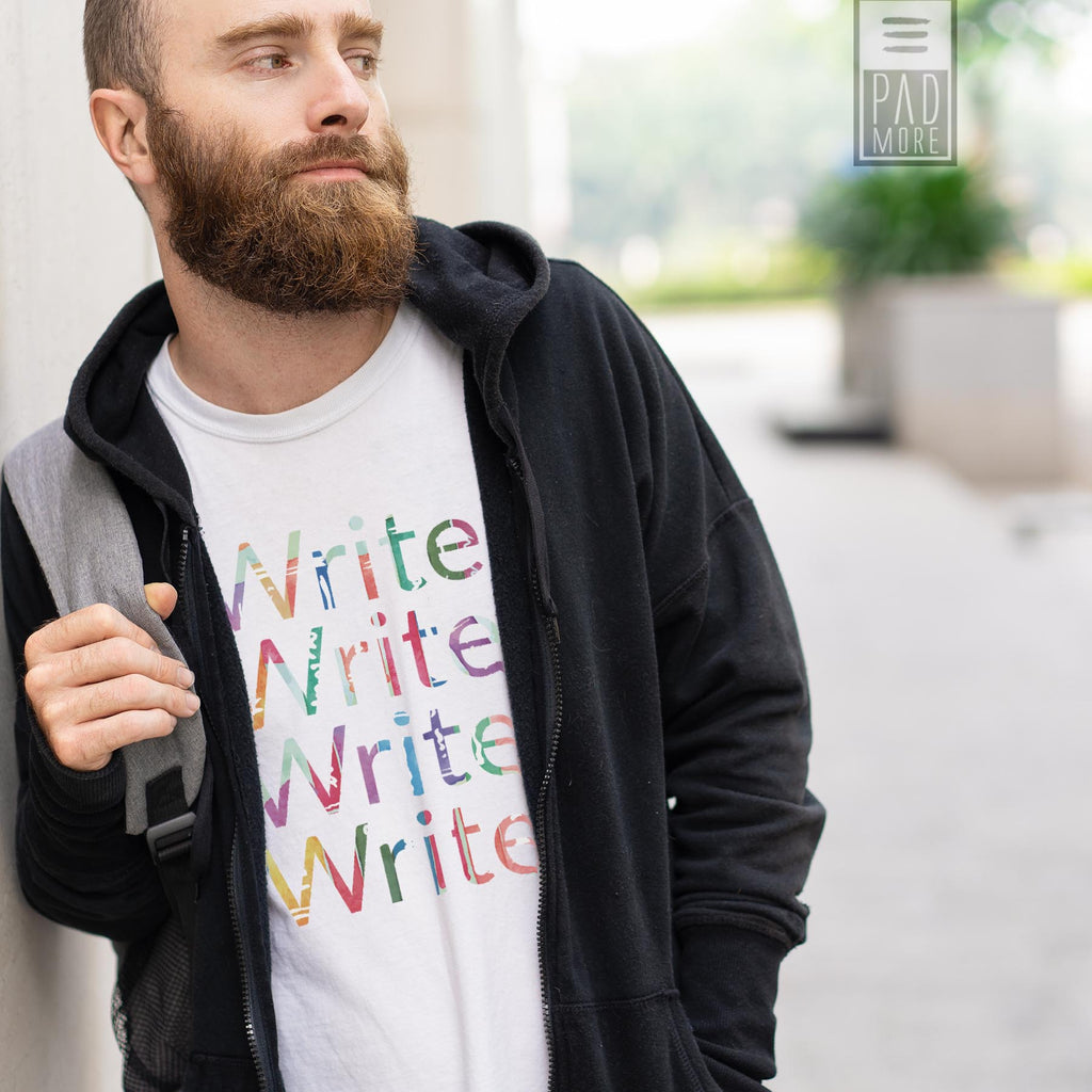 Write Write Write More Tshirt