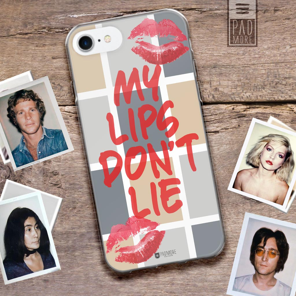My Lips Don't Lie Phone Case