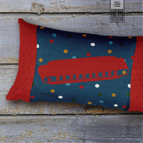 Music is Magic Rectangular Pillow