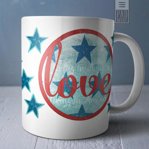 Love Living in America Mug