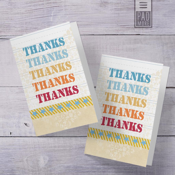 My Own Thank You Cards