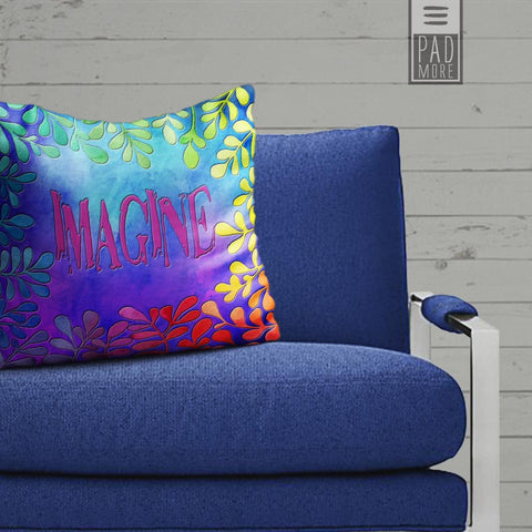 Imagine Flowers Pillows