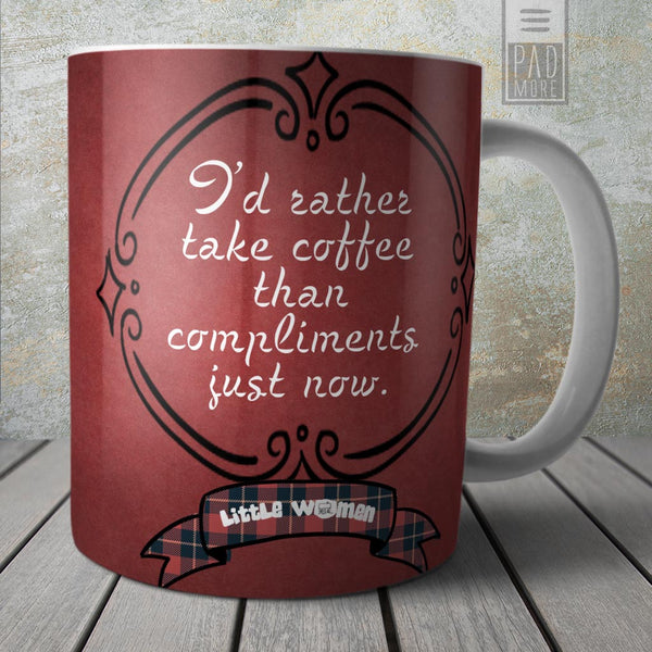 Little Women Rather Coffee Mug