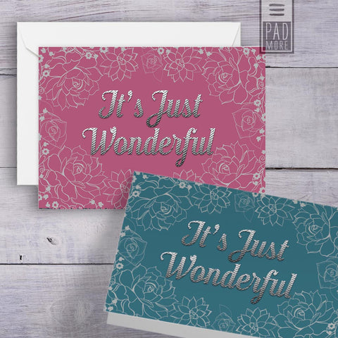 Julia Arenas Floral Cards