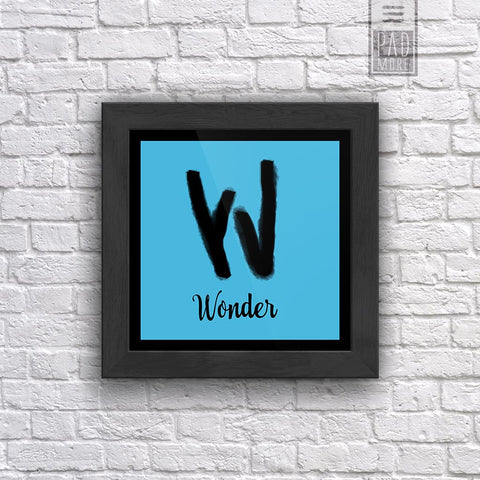 W is for Wonder Wall Art