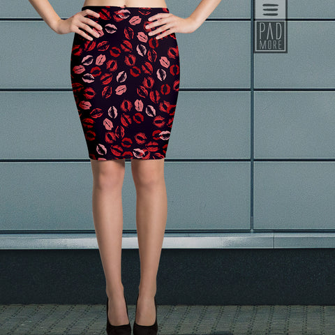 Kiss Me Pencil Skirt