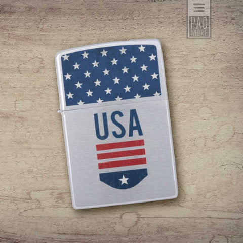 Zippo USA Player Lighter