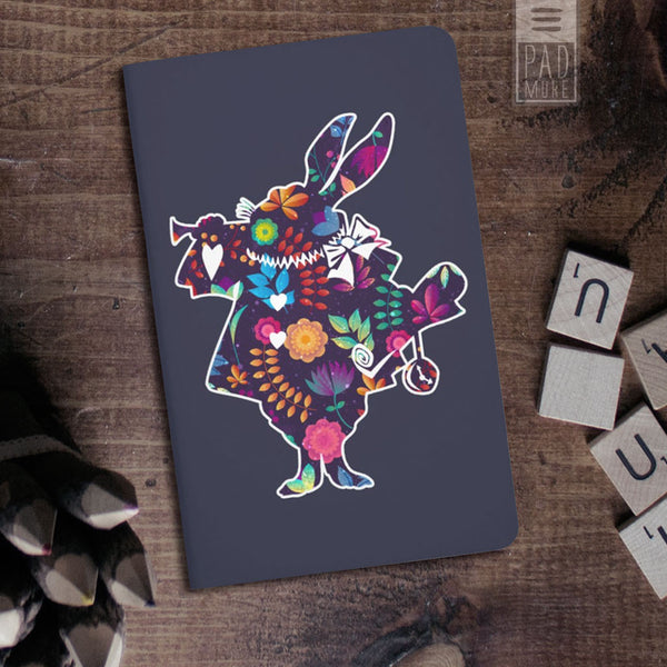 Flowery Rabbit Journal