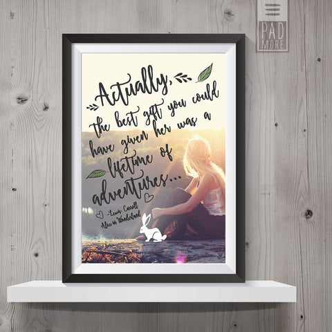 Adventures for a Lifetime Wall Art