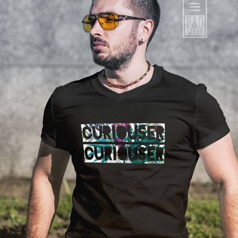 Curiouser Men Tshirt