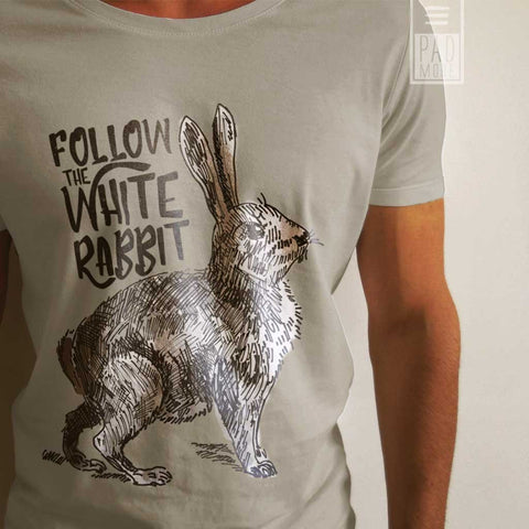 Follow the White Rabbit Tshirt
