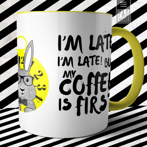 Late Rabbit Mug