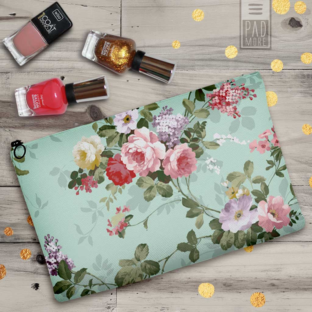 Green Garden Cosmetic Bag
