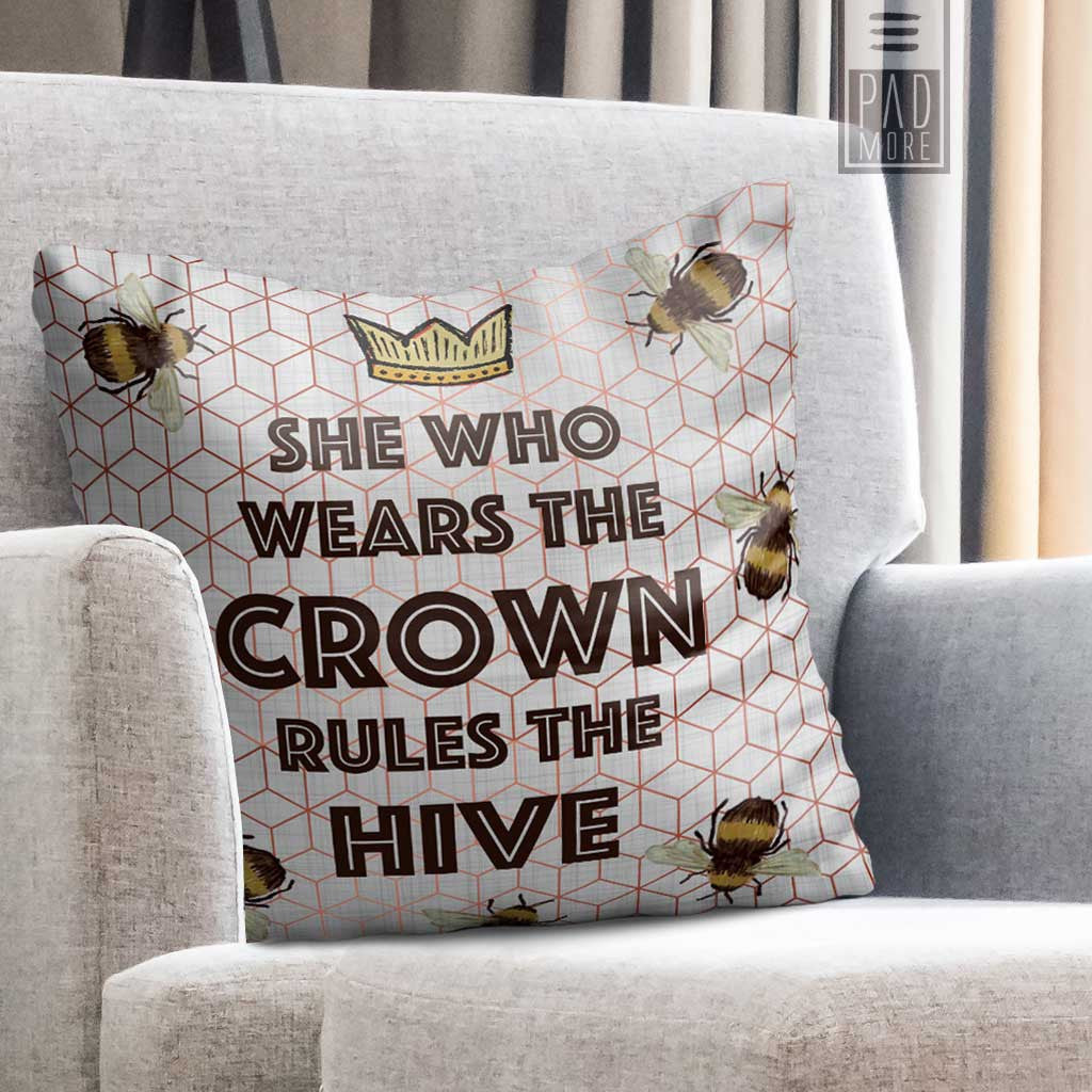 Rule the Hive Pillow