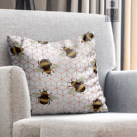 Bees in Hive Pillow