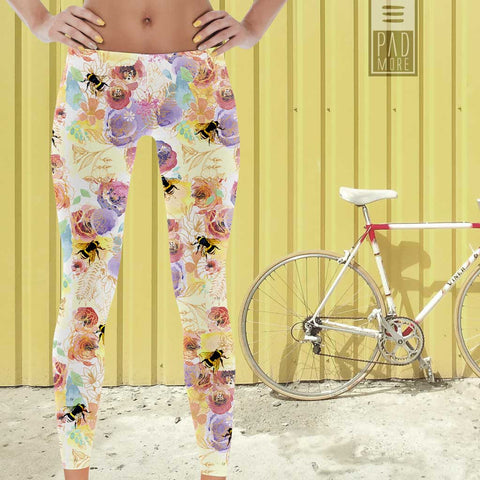Garden Full of Bees Leggings