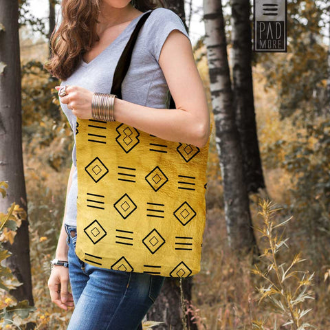 Golden Pattern Tote bag