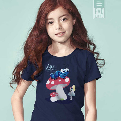 Allie Caterpillar Girl's T-Shirt