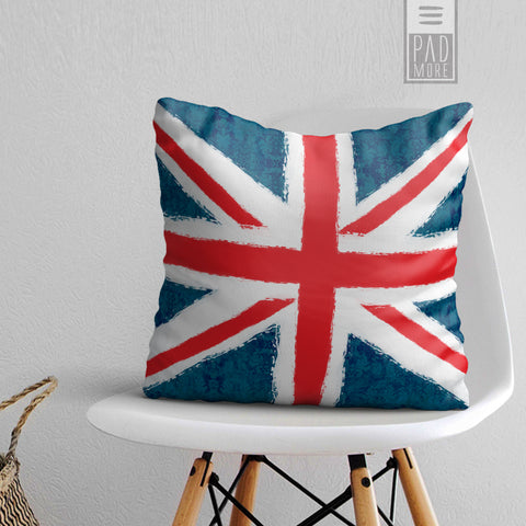 Union Jack England Flag Pillow