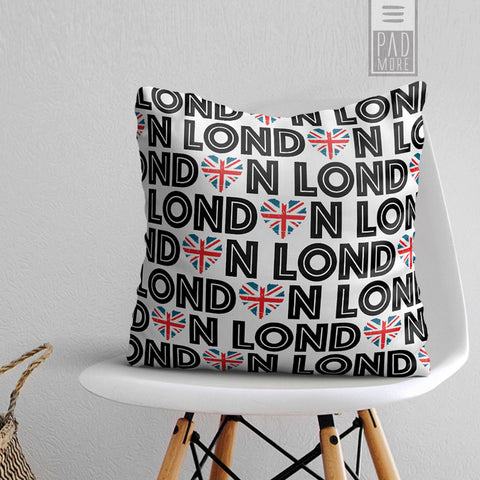 London in our Hearts Pillow