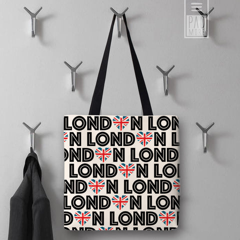 London in our Hearts Tote Bag