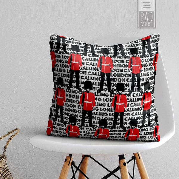 The Queen's Guard London Pillow