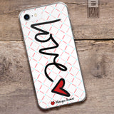 Love is All Around White Phone Case