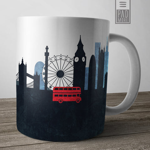 Ride through London Mug