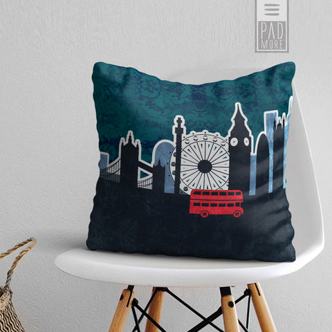 Ride through London Pillow