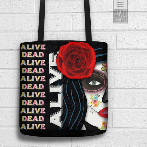 Kicking Death Tote Bag