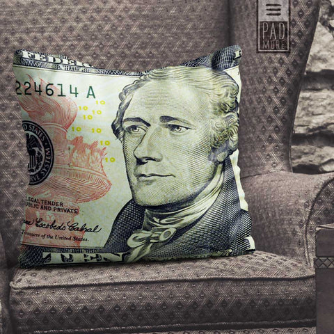 The Treasury Man Pillow