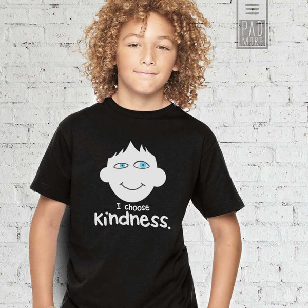 Choose Kindness Black Boy Tshirt