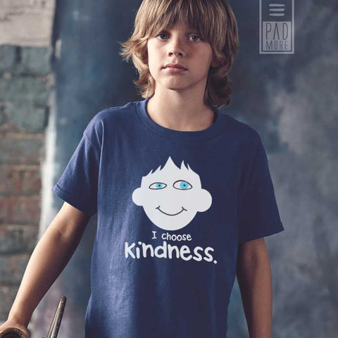 Choose Kindness Navy Boy Tshirt