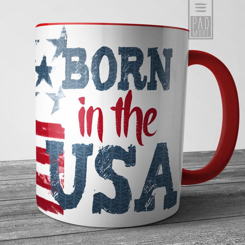 Born in the USA Mug