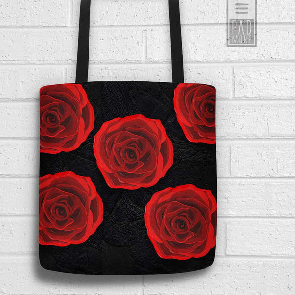 Love Roses Tote Bag