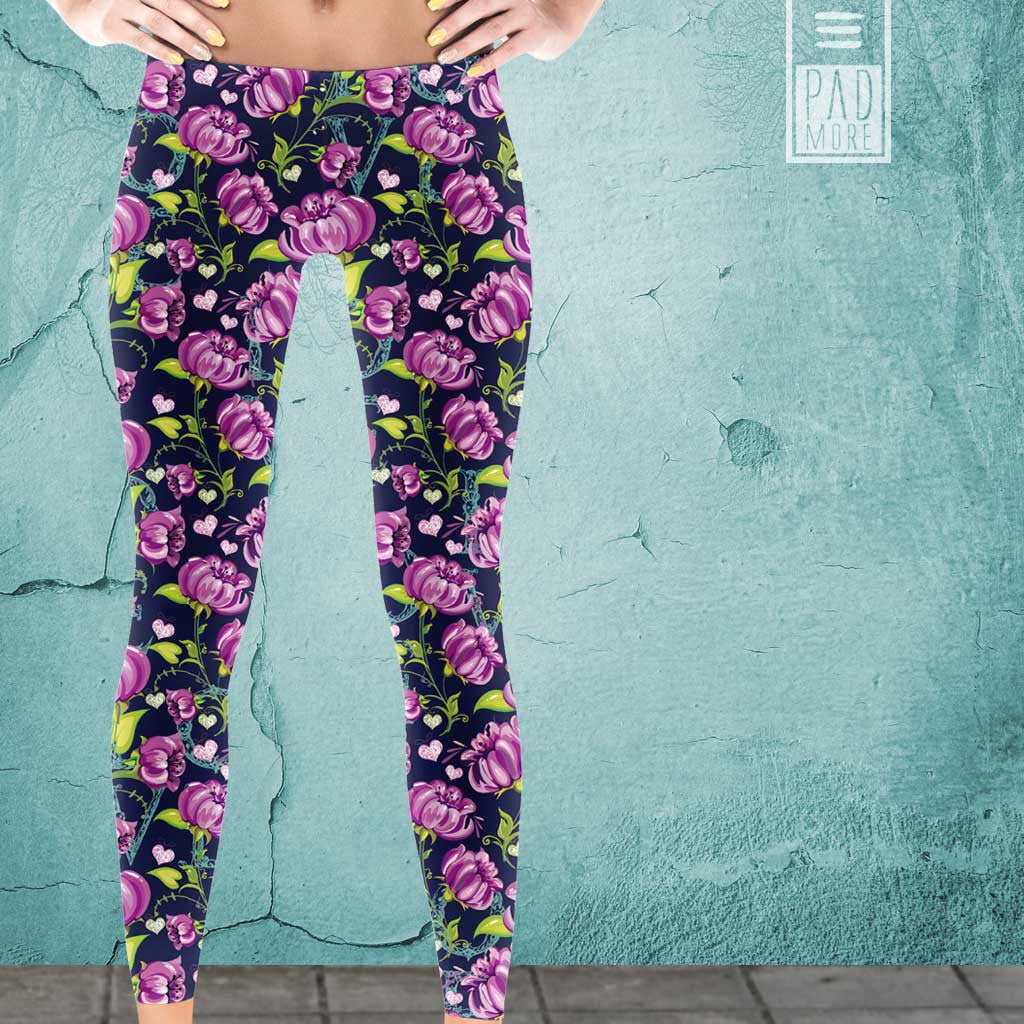 Love Flowers Leggings
