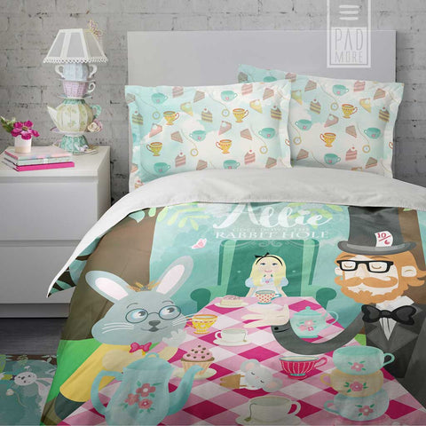 Allie Tea Party Duvet Cover