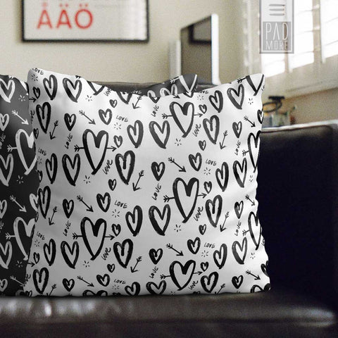 A True Love Story White Pillow