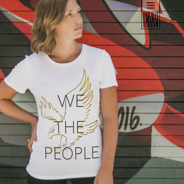We The People Woman Tshirt