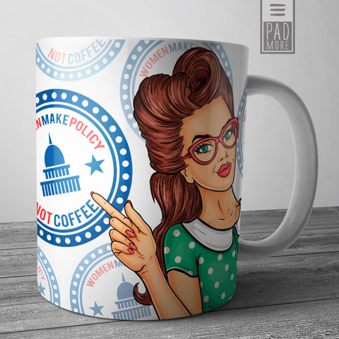 Women Make Policy Mug