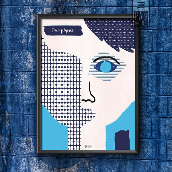 Patch Face Wall Art